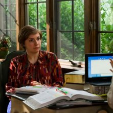 Girls: Lena Dunham in una scena dell'episodio Flo
