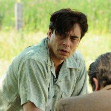Jimmy P.: Benicio Del Toro in una scena del film