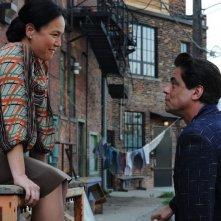 Jimmy P. (Psychotherapy of a Plains Indian) : Misty Upham in una scena del film con Benicio Del Toro