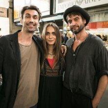 Noi 4: Fabrizio Gifuni con Lucrezia Guidone in una foto promozionale