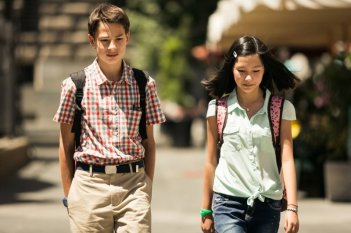 Noi 4: Francesco Bracci in un'immagine del film con Giulia Li Zhu Ye