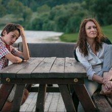 Noi 4: Ksenija Rappoport e Francesco Bracci in un'immagine del film sono madre e figlio