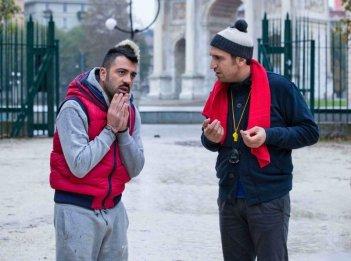 Amici come noi: Pio e Amedeo in un momento del film