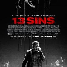 13 Sins: la locandina del film