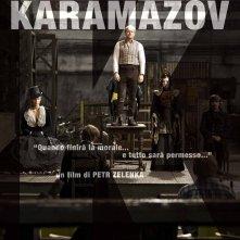 I fratelli Karamazov: la locandina italiana del film