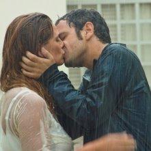 Ti sposo ma non troppo: Gabriele Pignotta con Vanessa Incontrada si baciano sul set del film