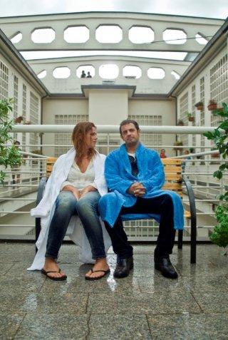 Ti sposo ma non troppo: Gabriele Pignotta e Vanessa Incontrada sul set del film