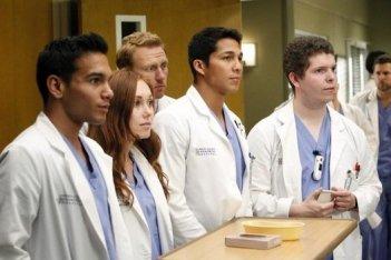 Grey's Anatomy: una scena dell'episodio You've Got to Hide Your Love Away