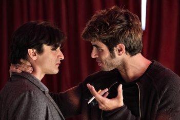 Le mani dentro la città: Giulio Beranek e Marco Rossetti in una scena della fiction