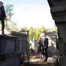 The Originals: Joseph Morgan con Claire Holt e Daniel Gillies in Farewell to Storyville