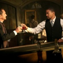 The Originals: Sebastian Roché e Charles Michael Davis nell'episodio Le Grand Guignol