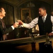 The Originals: Sebastian Roché e Charles Michael Davis nell'episodio Le Grand Guignol