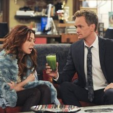 How I Met Your Mother: Alyson Hannigan e Neil Patrick Harris nell'episodio Rally