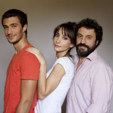 La luna su Torino: Walter Leonardi con Manuela Parodi ed Eugenio Franceschini in una foto promozionale