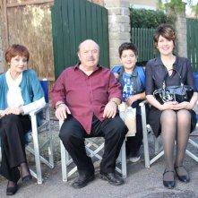 Un medico in famiglia 9: Milena Vukotic e Lino Banfi sul set del sesto episodio