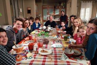 Un medico in famiglia 9: un'immagine del cast durante il dodicesimo episodio