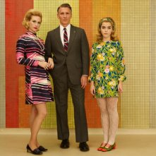 Mad Men: un'immagine promozionale per Christopher Stanley e January Jones