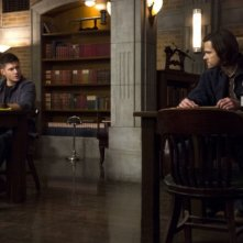 Supernatural: Jensen Ackles e Jared Padalecki nell'episodio Mother's Little Helper