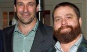 Jon Hamm e Zach Galifianakis in Keeping Up With the Joneses