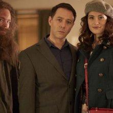 Inside No. 9: Steve Pemberton e Reece Shearsmith con Gemma Arterton nell'episodio Tom & Gerri