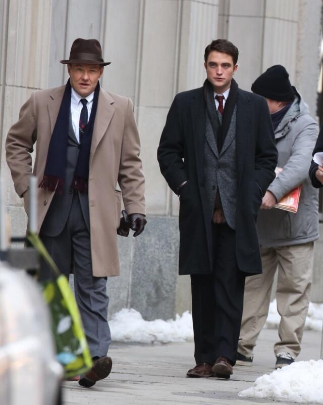 Life Joel Edgerton E Robert Pattinson Sul Set 301751