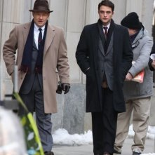 Life: Joel Edgerton e Robert Pattinson sul set