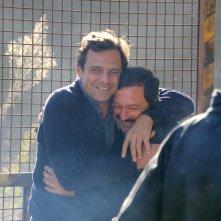 Per amore del mio popolo: Alessandro Preziosi in una scena della fiction
