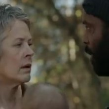The Walking Dead: Melissa Suzanne McBride e Chad L. Coleman nell'episodio Il bosco