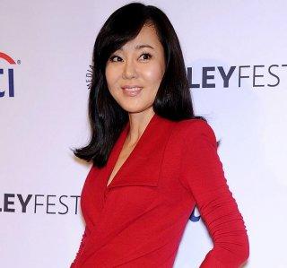 Yunjin Kim durante il decennale di Lost al Paleyfest del 2014