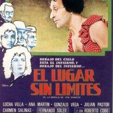 El lugar sin límites: la locandina del film