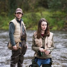 Hannibal: Hugh Dancy, Kacey Rohl nell'episodio Takiawase