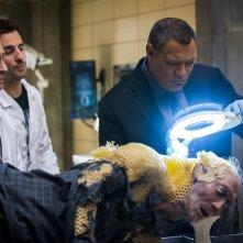 Hannibal: Laurence Fishburne, Scott Thompson, Aaron Abrams nell'episodio Takiawase