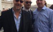 Noah: Russell Crowe e Aronofsky hanno incontrato il Papa
