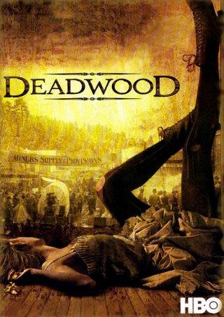 Deadwood: Ian McShane in una scena della serie