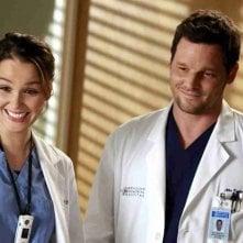 Grey's Anatomy: Justin Chambers, Camilla Luddington nell'episodio Throwing It All Away