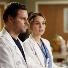 Grey's Anatomy: Justin Chambers e Camilla Luddington nell'episodio Throwing It All Away