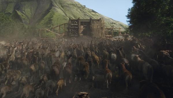 Noah Gli Animali Si Dirigono Sull Arca 302249