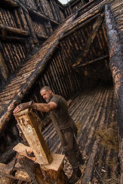 Noah Russell Crowe Impegnato Nella Costruzione Dell Arca 302253