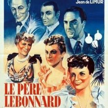 Papà Lebonnard: la locandina del film