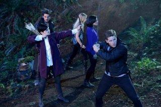 C'era un volta: Ginnifer Goodwin, Jennifer Morrison, Colin O'Donoghue e Josh Dallas nell'episodio Lost Girl