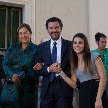 Le due leggi: Anna Melato, Enrico Ianniello, Ilaria De Laurentis nella fiction Rai