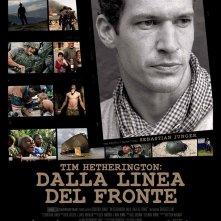 Tim Hetherington: dalla linea del fronte, la locandina italiana