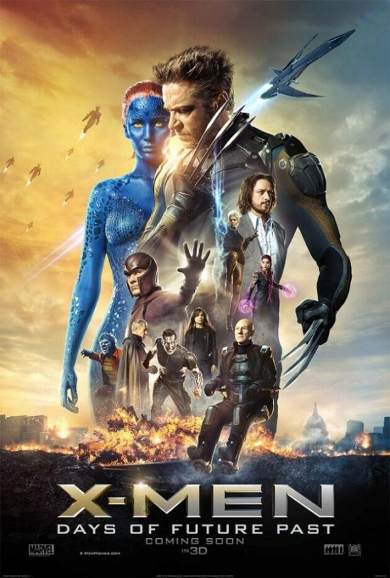 X-Men: Days Of Future Past: la nuova locandina
