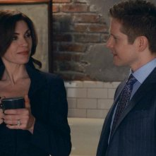 The Good Wife: Matt Czuchry e Julianna Margulies nell'episodio Dramatics, Your Honor