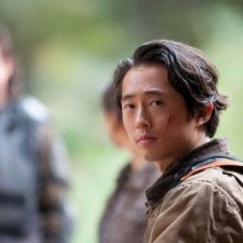 The Walking Dead: Steven Yeun in una scena dell'episodio Noi