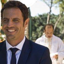 Ti sposo ma non troppo: Gabriele Pignotta in una scena del film