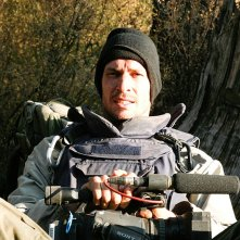 Tim Hetherington: dalla linea del fronte, il fotografo di guerra Tim Hetherington in un'immagine del documentario