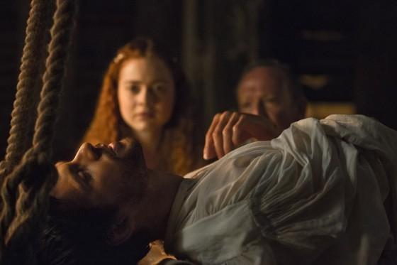 Da Vinci S Demons Hera Hilmar E Tom Riley Nell Episodio The Blood Of Man 302798