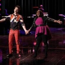 Glee: Chris Colfer e Amber Riley nell'episodio New Directions