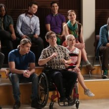 Glee: il cast nell'episodio New Directions
